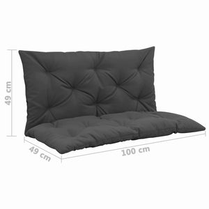 Cushion for Swing Chair Anthracite 100 cm Fabric