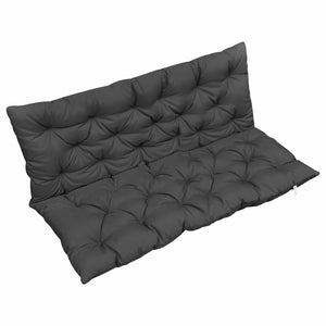 Cushion for Swing Chair Anthracite 120 cm Fabric