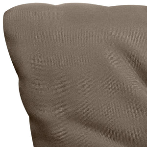 Cushion for Swing Chair Taupe 120 cm Fabric