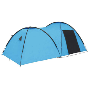 Camping Igloo Tent 450x240x190 cm 4 Person Blue