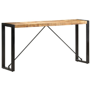 Console Table 150x35x76 cm Solid Mango Wood
