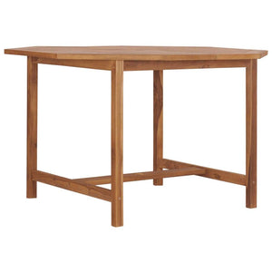 Garden Table 120x120x75 cm Solid Teak Wood sku 49006