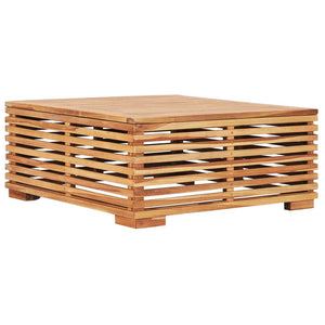 Garden Table 69.5x69.5x31 cm Solid Teak Wood