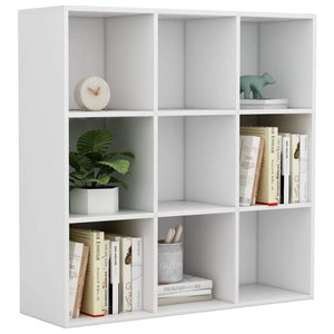 Book Cabinet White 98x30x98 cm Chipboard sku 801125