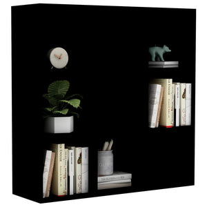 Book Cabinet Black 98x30x98 cm Chipboard sku 801126