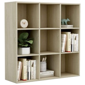 Book Cabinet Sonoma Oak 98x30x98 cm Chipboard sku 801128