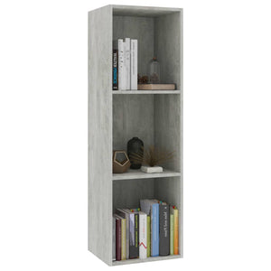 Book Cabinet/TV Cabinet Concrete Grey 36x30x114 cm Chipboard sku 802070