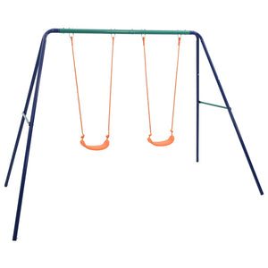 Swing Set with 2 Seats Steel - sku 92318