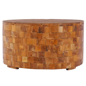 Coffee Table 60x60x35 cm Solid Teak Wood