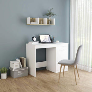 Desk White 100x50x76 cm Chipboard sku 801796
