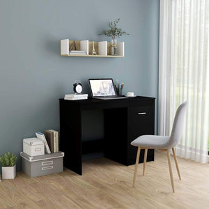 Desk Black 100x50x76 cm Chipboard sku 801797