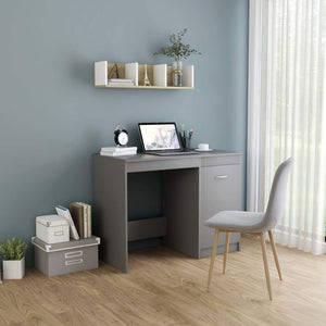 Desk Grey 100x50x76 cm Chipboard sku 801798