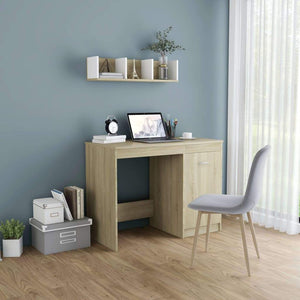 Desk Sonoma Oak 100x50x76 cm Chipboard sku 801799