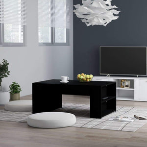 Coffee Table Black 100x60x42 cm Chipboard sku 802112