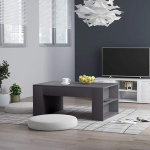 Coffee Table Grey 100x60x42 cm Chipboard sku 802113