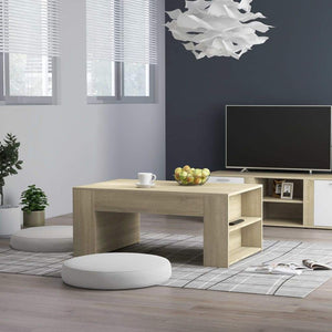 Coffee Table Sonoma Oak 100x60x42 cm Chipboard sku 802114