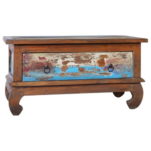 Coffee Table 80x50x40 cm Reclaimed Teak Wood