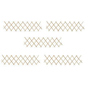 Trellis Fences 5 pcs Firwood 180x30 cm - sku 47239