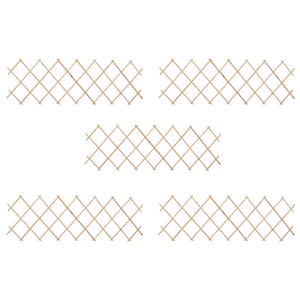Trellis Fences 5 pcs Firwood 180x60 cm - sku 47240