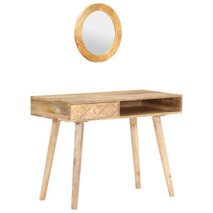 Dressing Table 100x50x76 cm Solid Mango Wood - sku 289636
