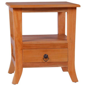 Bedside Cabinet Solid Mahogany Wood