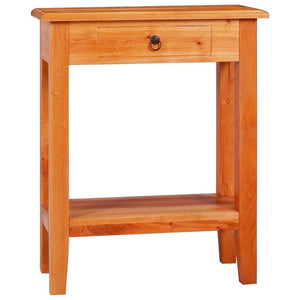 Console Table 60x30x75 cm Solid Mahogany Wood