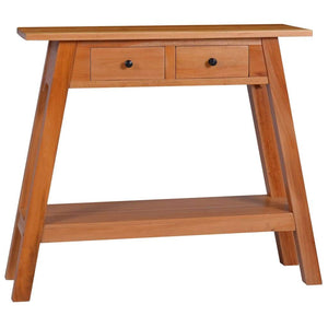 Console Table 90x30x75cm Solid Mahogany Wood