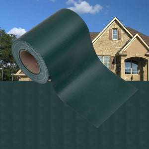 Garden Privacy Screen PVC 35x0.19 m Matte Green - sku 147869
