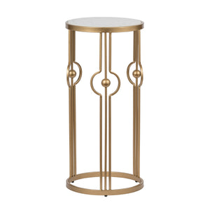 MARBLE ART DECO SIDE TABLE