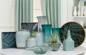 Emerald Glass Vase