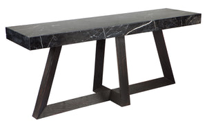 Ebony Console Table - Black