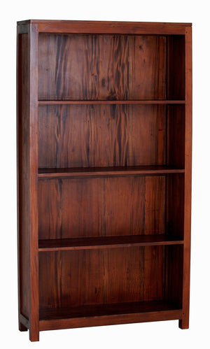 Amsterdam Bookcase Wide (Light Pecan)