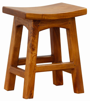 Timber Stool H 48 cm (Light Pecan)