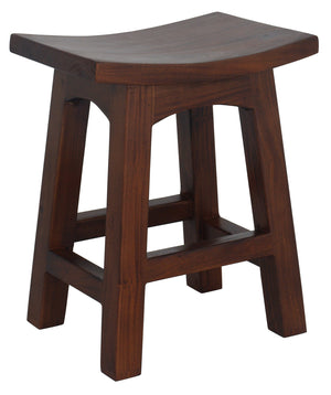 Timber Stool H 48 cm (Mahogany)