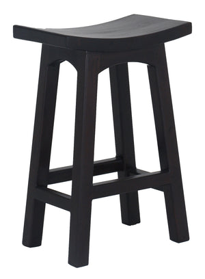 Wooden Kitchen Stool (Chocolate)