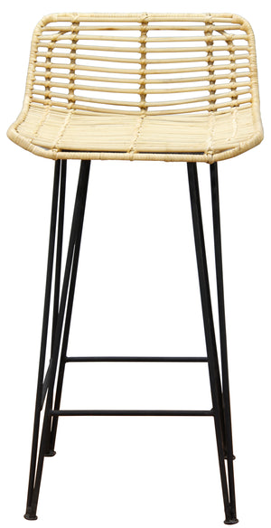 RTA Rattan Bar Stool