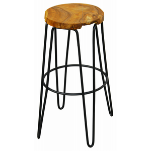 Round shape Iron Bar Stool