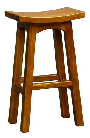 Tremendous Wooden Bar Stool Caramel Sapphire Decor Uwap Interior Chair Design Uwaporg
