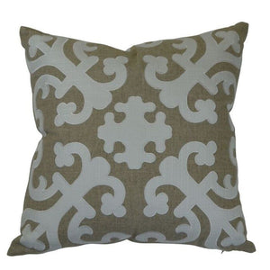 Barbara Linen Ivory Cushion Cover