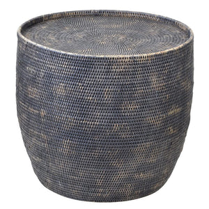 Bungalow Rattan Round Side Table
