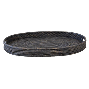 Bungalow Rattan Tray Oval Small