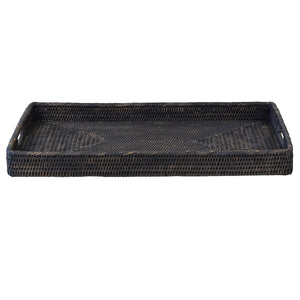 Bungalow Rattan Tray Rectangle Small