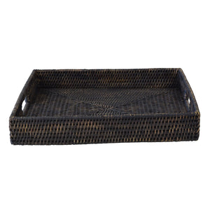 Bungalow Rattan Tray Square Large