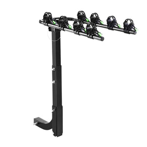 "Giantz Bike Carrier 4 Bicycle Car Rear Rack Hitch Mount 2"" Towbar Foldable Steel"