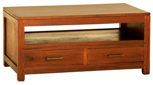 Paris 4 Drawer Coffee Table (Light Pecan)