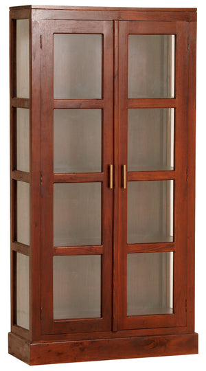 Paris Display Cabinet (Mahogany)
