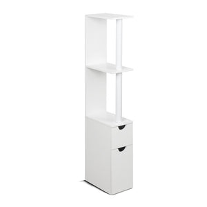 Artiss Freestanding Bathroom Storage Cabinet - White