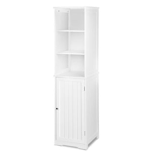 Artiss Bathroom Tallboy Storage Cabinet - White