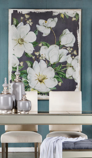 MAGNOLIA BLOOMS WALL ART