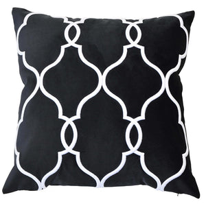 Laguna Beach Black Cushion Cover